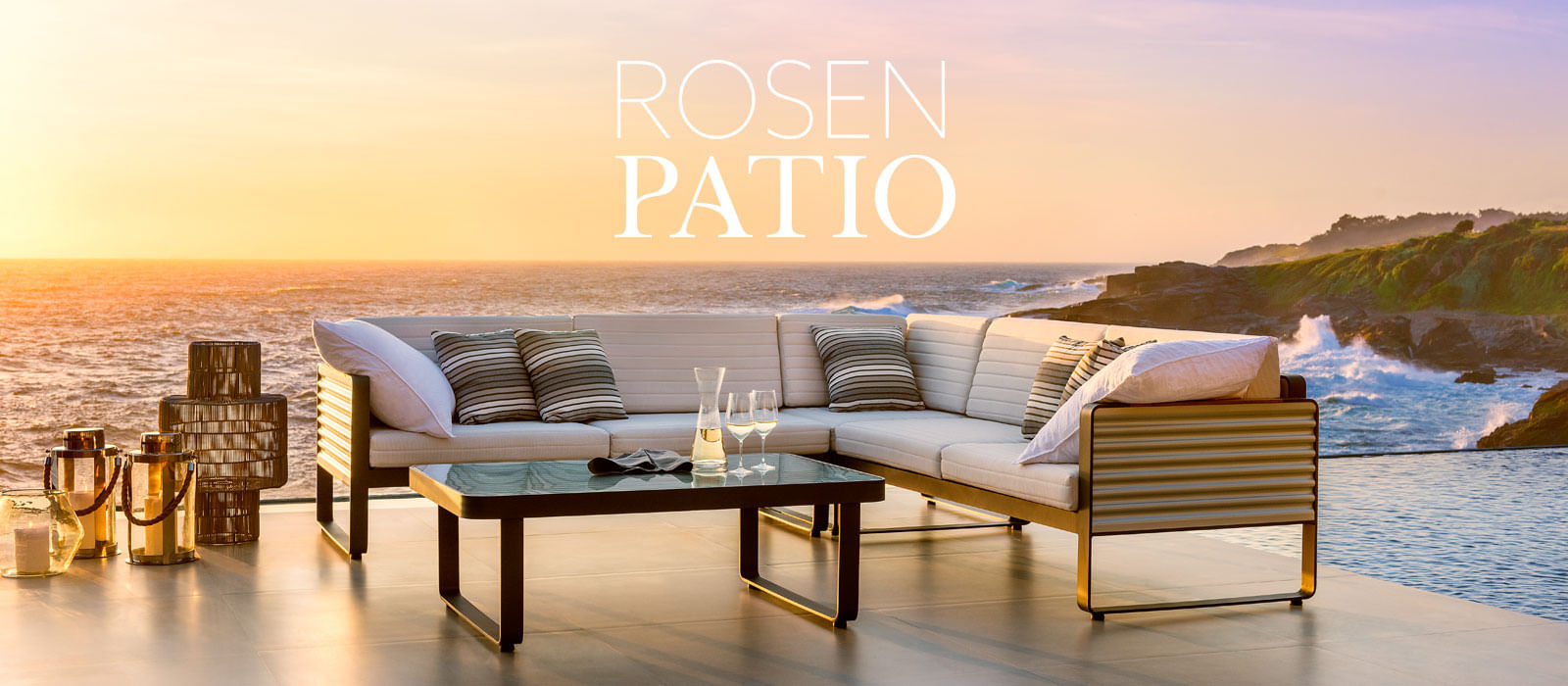 Muebles de terraza rosen per for Muebles balcon terraza